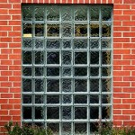 Exterior-glass-block-church-window-with-cross-in-it-compressor