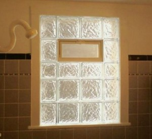 Glass Block Bathroom Window   Lansing MI   WMGB Home Improvement