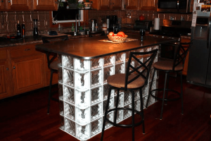 Glass Block Bar - WMGB Home Improvement